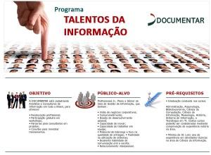 Talentos da informação - Documentar